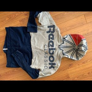 Reebok CrossFit hoodie and coors sweatshirt